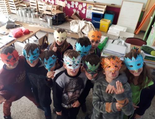 Carnaval a l'Extraescolar d'anglès