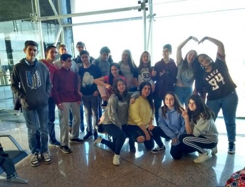Alumnes de 3r d'ESO participen en un intercanvi a França