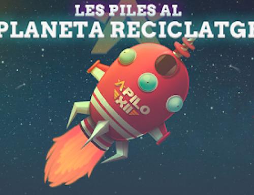 Comença el compte enrere: el coet Apilo XII marxa al planeta Reciclatge!