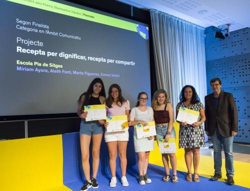 """Alumnes de 4t d'ESO premiats al """"Blanquerna Impulsa"""""""
