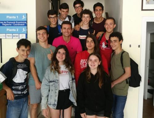 SUMMEM: alumnat de 3r d'ESO s'entrevista amb experts del turisme de Sitges