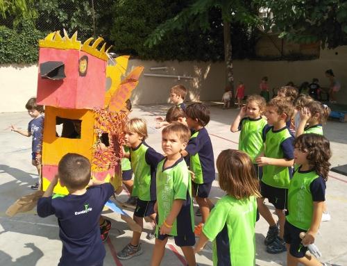 Els més petits de l'escola celebrem Santa Tecla!