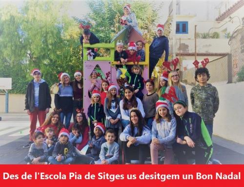 La Comunitat Educativa us desitja un Bon Nadal