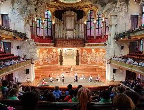 1r de Primària: Audició al Palau de la Música!