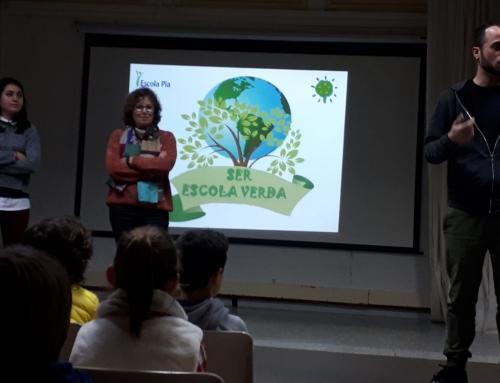 Presentació del projecte Escola Verda a l'escola