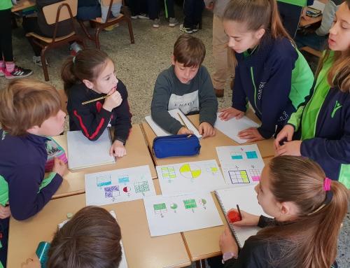 Aprenentatge servei: 4t demana a 6è ajuda en les fraccions