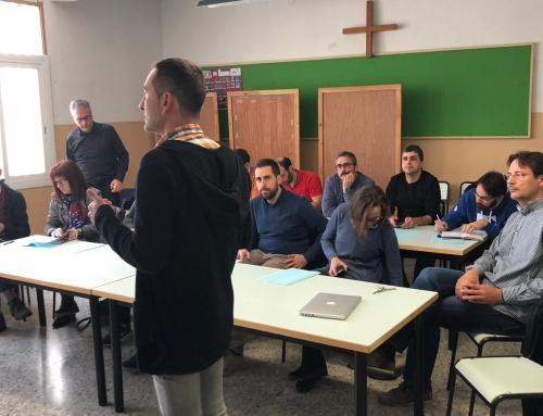 Visita dels escolapis d'Emaús