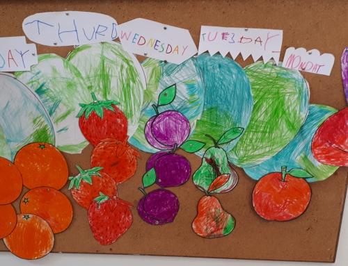P4: Descobrim paraules en anglès amb el conte The very hungry caterpillar