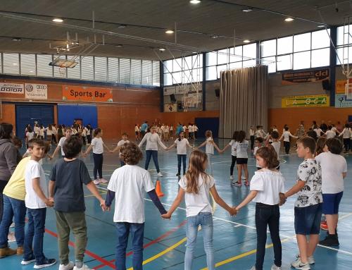 4t de primària participa a la trobada de sardanes