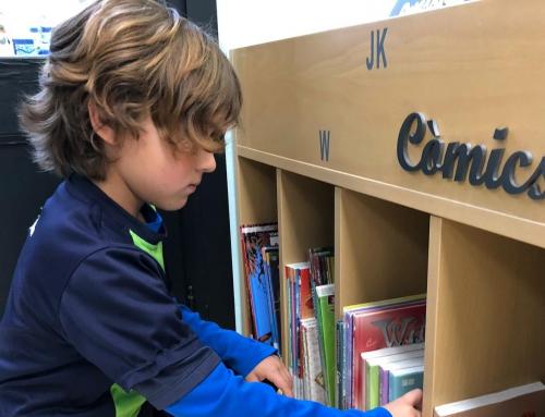 2n primària: tornem a la biblioteca Santiago Rusiñol