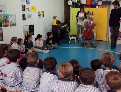 P5 descobreix la màgia dels instruments de corda