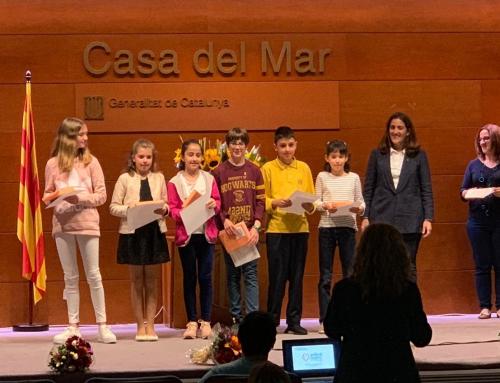 Una alumna de 5è de primària, reconeguda en la fase territorial dels VI Jocs Florals
