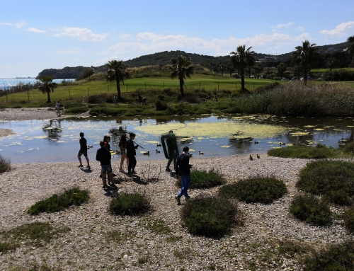 Comença l'itinerari d'ecologia a 2n d'ESO