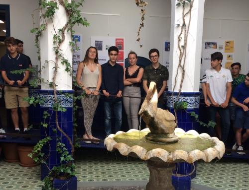 4t d'ESO culmina el seu nou itinerari amb una exposició efímera a la biblioteca Santiago Rusiñol