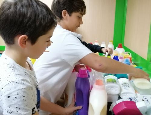 Recollida de productes d'higiene
