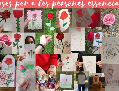 Mural de roses – Gràcies